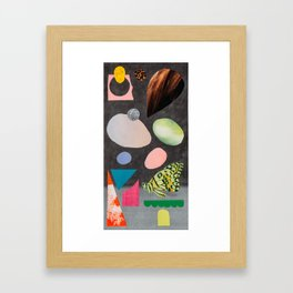 a bit for you, a bit for everyone Framed Art Print