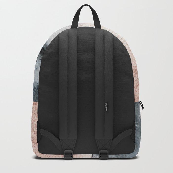 pastel landscape Backpack