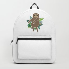Floss Dance Move Sloth Backpack
