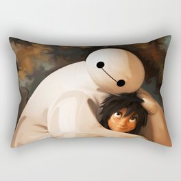 Baymax Love Rectangular Pillow