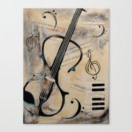 Electric Violin Canvas Print