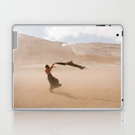 desert dust storm Laptop & iPad Skin