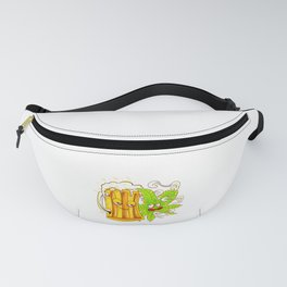 Happy Couple Wasted Funny Beer Mug and Cannabis Leaf Fanny Pack