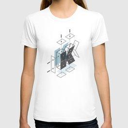 The Exploded Alphabet / K T-shirt