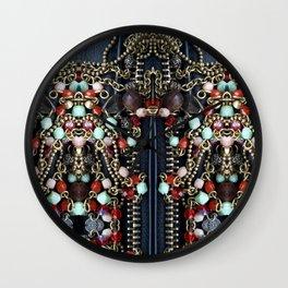 Jewelry pattern Wall Clock