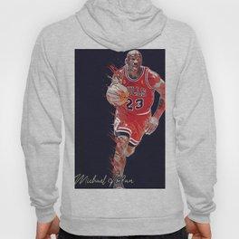 basketball player art 16 Hoody