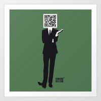 suit Art Prints featuring Suit by Random6ix