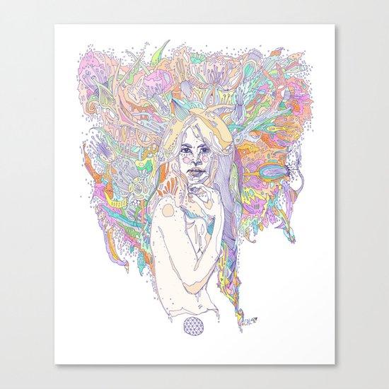 raw color Canvas Print