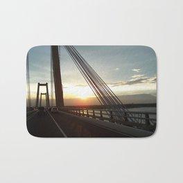 The Lake Maracaibo Bridge - III Bath Mat