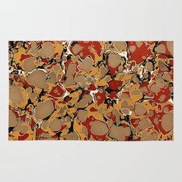 Old Marbled Paper 04 Rug