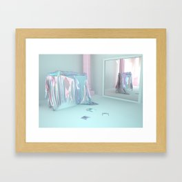 Save and rest Framed Art Print