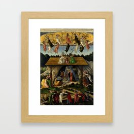"Sandro Botticelli ""The Mystical Nativity"" Framed Art Print"