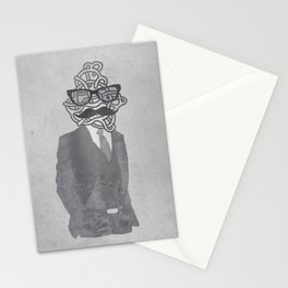 The Gentlemanly Squiggle Stationery Cards