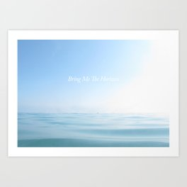 Bring Me The Horizon Art Print
