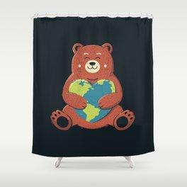 Earth Love Shower Curtain