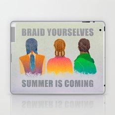 Braid yourselves Laptop & iPad Skin