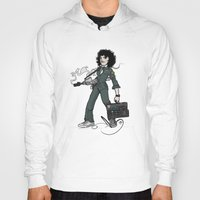 ripley Hoodies featuring Ripley  by shugmonkey