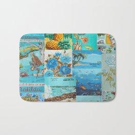 Australian Vintage Tea Towels  Bath Mat
