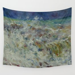 """Auguste Renoir """"The Wave"""" Wall Tapestry"""