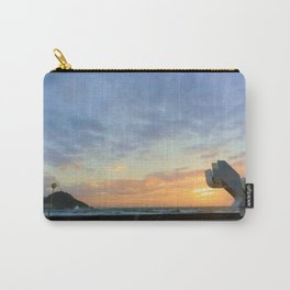 Sunset in La Zurriola Carry-All Pouch