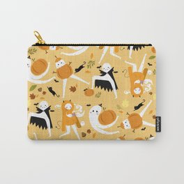 Fall Fresno Nightcrawlers Pattern Carry-All Pouch