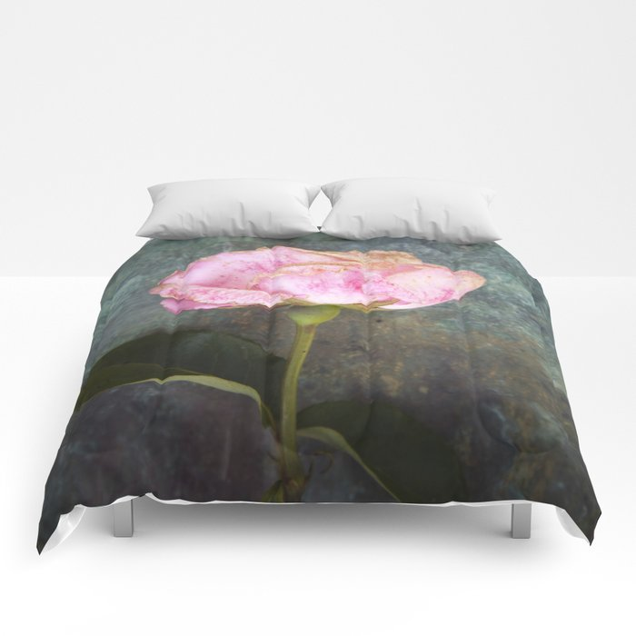Wilted Rose III Comforters