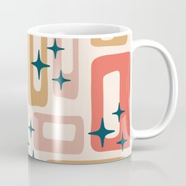 Retro Mid Century Modern Abstract Pattern 121 Coffee Mug