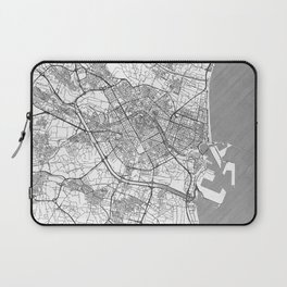 Valencia Map Line Laptop Sleeve