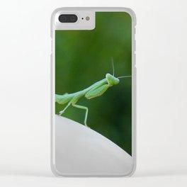 Mr. Mantis Clear iPhone Case