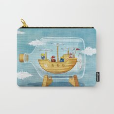 AIRSHIP IN A BOTTLE Carry-All Pouch