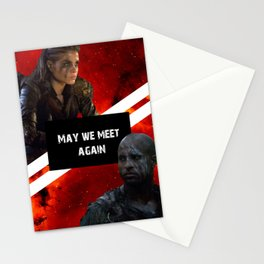 May we Meet Again Octavia + Lincoln Stationery Cards