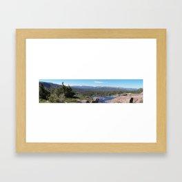 Uinta Mountain Water Drop Framed Art Print