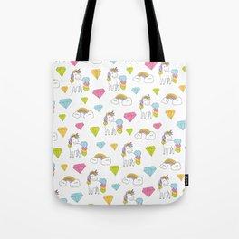 Cute unicorns Tote Bag