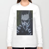 dracula Long Sleeve T-shirts featuring Dracula by Paintings That Pop