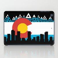 colorado iPad Cases featuring COLORADO by Love Life Creative