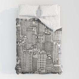 New York View 3 Duvet Cover