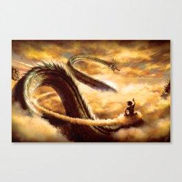 Good Morning Shenron Canvas Print