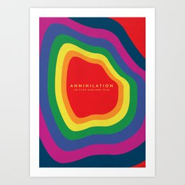 Annihilation Alternative Poster Art Print