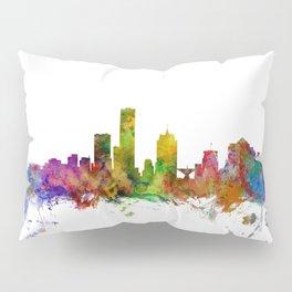 Milwaukee Wisconsin Skyline Pillow Sham