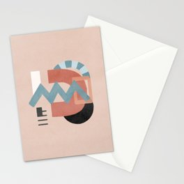 Chemistry and connection Stationery Cards