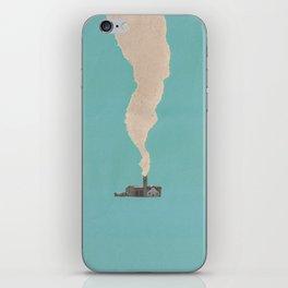 Torn Around — Smoke iPhone Skin