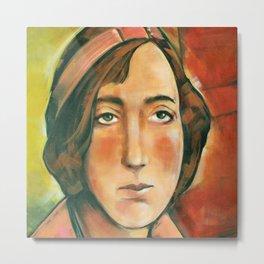 Portrait of Mireille Havet Metal Print