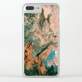 Atomic Rush Clear iPhone Case