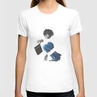 death note T-shirts featuring Death Note L by Papan Seniman