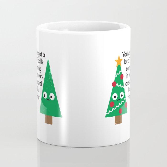 Spruced Up Coffee Mug