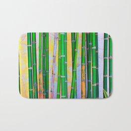 Tropical Bamboo Wood Bath Mat