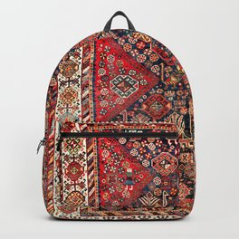 Qashqa'i Fars Southwest Persian Nomad Rug Print Backpack