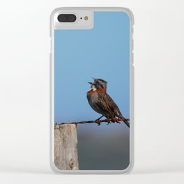 Singing out loud!! Clear iPhone Case