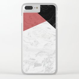 MARBLE SUPERIOR Clear iPhone Case