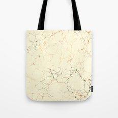 Marbled Cream Tote Bag